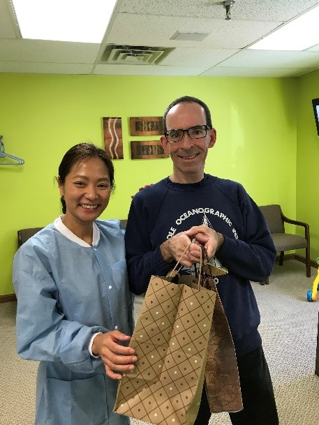 A gift for Dr. Bui from one of the her awesome patient! | Salem, NH
